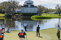 Thorbjorn Olesen (DEN) reacts to barely missing his birdie putt on 18 during round 2 of the Arnold Palmer Invitational at Bay Hill Golf Club, Bay Hill, Florida. 3/8/2019.<br /> Picture: Golffile | Ken Murray<br /> <br /> <br /> All photo usage must carry mandatory copyright credit (&copy; Golffile | Ken Murray)