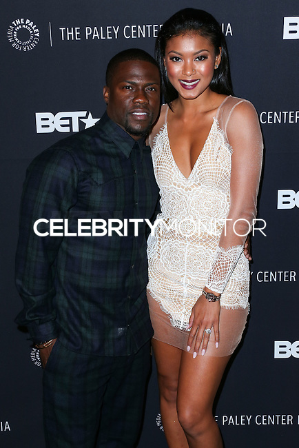 BEVERLY HILLS, CA, USA - OCTOBER 14: Kevin Hart, Eniko Parrish arrive at the Paley Center for Media's An Evening with BET Networks' 'Real Husbands of Hollywood' held at the The Paley Center for Media on October 14, 2014 in Beverly Hills, California, United States. (Photo by Xavier Collin/Celebrity Monitor)
