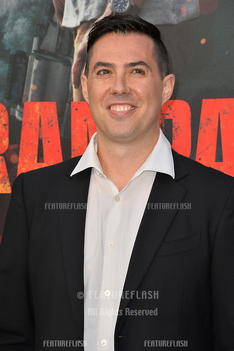Brad Peyton at the premiere for &quot;Rampage&quot; at the Microsoft Theatre, Los Angeles, USA 04 April 2018<br /> Picture: Paul Smith/Featureflash/SilverHub 0208 004 5359 sales@silverhubmedia.com