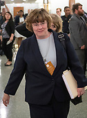 Phoenix prosecutor Rachel Mitchell departs following the hearing where Judge Brett Kavanaugh attempted to refute the testimony of Dr. Christine Blasey Ford  before the US Senate Committee on the Judiciary on his nomination to be Associate Justice of the US Supreme Court to replace the retiring Justice Anthony Kennedy on Capitol Hill in Washington, DC on Thursday, September 27, 2018.  <br /> Credit: Ron Sachs / CNP<br /> (RESTRICTION: NO New York or New Jersey Newspapers or newspapers within a 75 mile radius of New York City)