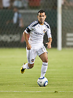 CARSON, CA – September 9, 2011: LA Galaxy midfielder Juninho (19) during the match between LA Galaxy and Colorado Rapids at the Home Depot Center in Carson, California. Final score LA Galaxy 1, Colorado Rapids 0.