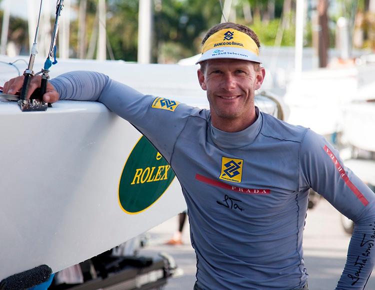 Robert Scheidt, Star, 8255, BRA ..Leader after 7 races..