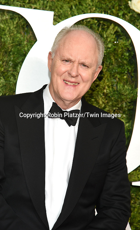 John Lithgow attends the 71st Annual  Tony Awards on June 11, 2017 at Radio City Music Hall in New York, New York, USA.<br /> <br /> photo by Robin Platzer/Twin Images<br />  <br /> phone number 212-935-0770