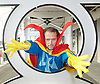 London Super Comic Con<br /> at Design Centre Islington, London, Great Britain <br /> 25th August 2017 <br /> <br /> General views <br /> and delegates in cos play costumes <br /> <br /> Paul Shearman as Dr Strange <br /> <br /> London Super Comic Con plays host to the latest comics, comic related memorabilia, superheroes and graphic novels fans have a chance to interact with their favourite creators, and  exhibitors showcasing items from comics to Cosplay, original art to toys.<br /> <br /> <br /> <br /> <br /> <br /> <br /> Photograph by Elliott Franks <br /> Image licensed to Elliott Franks Photography Services