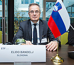 BRUSSELS - BELGIUM - 25 November 2016 -- European Training Foundation (ETF) Governing Board meeting. -- Elido Bandelj, Director of the Institute of the Republic of Slovenia for Vocational Education and Training. -- PHOTO: Juha ROININEN / EUP-IMAGES