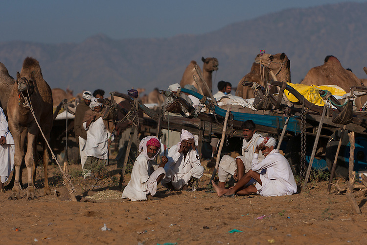 Rajastani people at Pushkar Camel Fair
