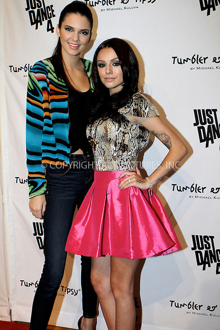 WWW.ACEPIXS.COM....September 11 2012, New York City....Singer Cher Lloyd and Kendall Jenner at the Tumbler And Tipsy By Michael Kuluva spring 2013 fashion show during Style360 at Metropolitan Pavillion on September 11, 2012 in New York City.......By Line: Nancy Rivera/ACE Pictures......ACE Pictures, Inc...tel: 646 769 0430..Email: info@acepixs.com..www.acepixs.com