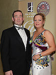 Derek and Orla Rooney pictured at the Fingal Harriers Hunt Ball held in the d hotel Drogheda. Photo:Colin Bell/pressphotos.ie