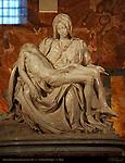 Pieta Michelangelo Buonarroti 1499 St Peter's Basilica Rome