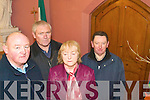 VANDALISM: Members of the Kilmoyley Community Council were shocked to see vandals had broken a door and vandalised the Church.  Pictured were: Sean McGrath, Michael McCarthy, Merina Regan and John Young.