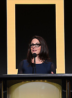 BEVERLY HILLS - JULY 23: President of National Geographic Global Networks Courteney Monroe onstage during the National Geographic portion of the Summer 2019 TCA Press Tour at the Beverly Hilton on July 23, 2019 in Los Angeles, California. (Photo by Frank Micelotta/National Geographic/PictureGroup)