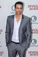 PACIFIC PALISADES, CA - JUNE 17: Matt Cedeno attends the Lifetime original series 'Devious Maids' premiere party held at Bel-Air Bay Club on June 17, 2013 in Pacific Palisades, California. (Photo by Celebrity Monitor)
