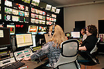 Inside of the Production Control Room at The Weather Channel in Atlanta, Georgia May 16, 2013.
