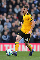 Diago Jota of Wolverhampton Wanderers in action during Chelsea vs Wolverhampton Wanderers, Premier League Football at Stamford Bridge on 10th March 2019
