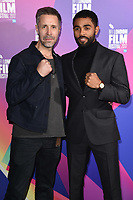 "Paddy Considine and Anthony Welsh<br /> arriving for the London Film Festival 2017 screening of ""Journeyman"" at Picturehouse Central, London<br /> <br /> <br /> ©Ash Knotek  D3333  12/10/2017"