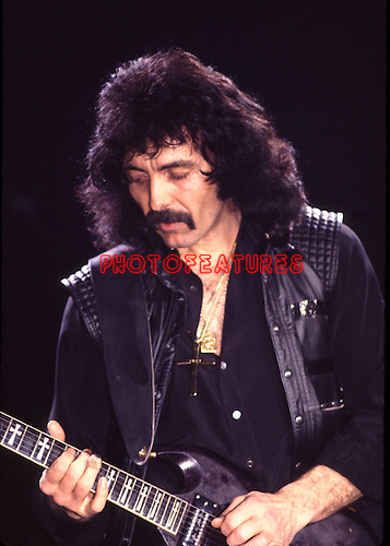 Black Sabbath 1984 Tony Iommi..© Chris Walter....