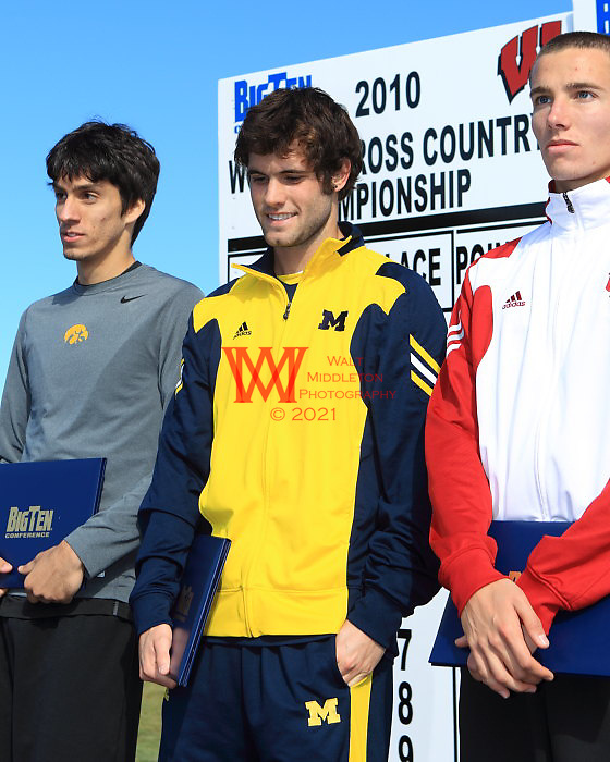 Sunday October 31, 2010, The University Of Michigan Men's Cross Country team compete at the 2010 Big Ten Cross Country Championship hosted by the University of Wisconsin @ the Zimmer Championship Cross Country Course.