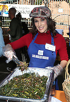 Los Angeles, CA - NOVEMBER 23: Christina DeRosa, At Los Angeles Mission Thanksgiving Meal For The Homeless At Los Angeles Mission, California on November 23, 2016. Credit: Faye Sadou/MediaPunch