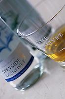 "Europe/Grande-Bretagne/Ecosse/Moray/Speyside/Glenlivet : Hôtel de charme ""Minmore House"" - Bouteille d'eau de Glenlivet pour le whisky"