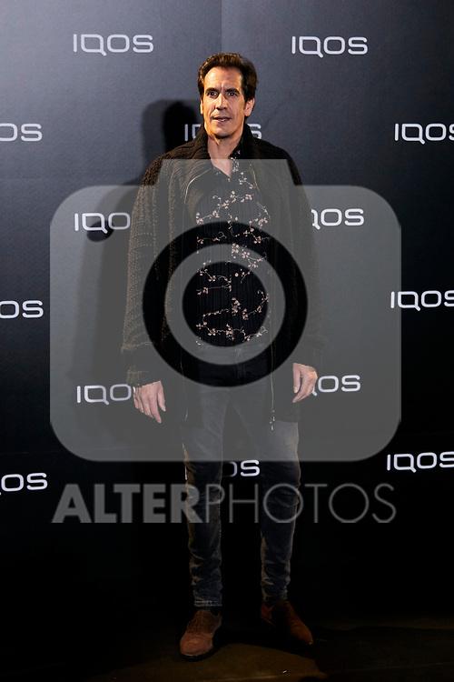 Rodrigo Poison attends to IQOS3 presentation at Palacio de Cibeles in Madrid, Spain. February 13, 2019. (ALTERPHOTOS/A. Perez Meca)