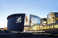 Nederland Amsterdam 2015 12 11. Het van Gogh Museum op het Museumplein . Foto Berlinda van Dam / Hollandse Hoogte