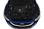 Car Stock 2019 Mazda Mazda6 Skycrusie 5 Door Wagon Engine  high angle detail view