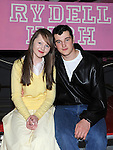 Neil Reilly as Danny and Aine Clarke as sandy in Ardee Community school's production of Grease at Ardee Parish Centre. Photo: Colin Bell/pressphotos.ie