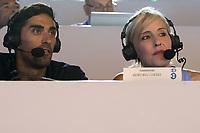 Filippo Magnini Lia Capizzi<br /> day 02  09-08-2017<br /> Energy For Swim<br /> Rome  08 -09  August 2017<br /> Stadio del Nuoto - Foro Italico<br /> Photo Deepbluemedia/Insidefoto