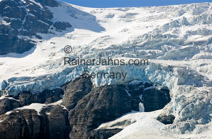 CHE, SCHWEIZ, Kanton Bern, Berner Oberland, Rosenlauital: Rosenlauigletscher   CHE, Switzerland, Bern Canton, Bernese Oberland, Rosenlaui valley: Rosenlaui Glacier
