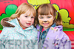 Pictured at Mighty Mikeys birthday party at Lee Strand on Saturday, from left: Caoimhe Nolan and Muireann Hussey..