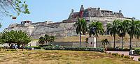 Cartagena, Colombia.  Castillo de San Felipe de Barajas, 17th-18th Century.