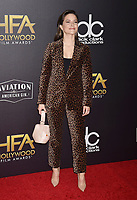 BEVERLY HILLS, CA - NOVEMBER 04: Sophia Bush arrives at the 22nd Annual Hollywood Film Awards at the Beverly Hilton Hotel on November 4, 2018 in Beverly Hills, California.<br /> CAP/ROT/TM<br /> &copy;TM/ROT/Capital Pictures
