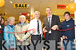 Cutting the ribbon: Jack McKenna, Paul Taylor and Kieran Donaghy cutting the .ribbon at the official opening of the new McKenna's showroom in their .Listowel store on Saturday   Copyright Kerry's Eye 2008