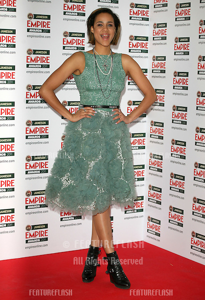 Zawe Ashton arriving for the Jameson Empire Awards 2011, Grosvenor House Hotel, London. 27/03/2011  Picture by: Alexandra Glen / Featureflash