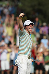 02 May 2010: Rory wins during the final round of the Quail Hollow Championship. The final round of the Quail Hollow Championship was played at the Quail Hollow Country Club in Charlotte, North Carolina and saw Rory McIlroy claim his first PGA win.Mandatory Credit: Jim Dedmon/ ZUMA Press