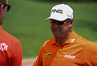 Lee Westwood (ENG) one of four players who took part in a shooting competition raising RM100,000 for charities during the preview days of the 2014 Maybank Malaysian Open at the Kuala Lumpur Golf & Country Club, Kuala Lumpur, Malaysia. Picture:  David Lloyd / www.golffile.ie