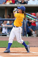 Dominick Coduti, a local high school player, during the home run derby of the Triple-A All-Star Game at Fifth Third Field on July 10, 2006 in Toledo, Ohio.  (Mike Janes/Four Seam Images)