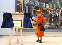 07 March 2019 - London, UK - Queen Elizabeth II visits the Science Museum in London. Photo CreditL ALPR/AdMedia