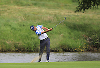Thomas Linard (FRA) on the 1st fairway during Round 2 of the 100th Open de France, played at Le Golf National, Guyancourt, Paris, France. 01/07/2016. <br /> Picture: Thos Caffrey | Golffile<br /> <br /> All photos usage must carry mandatory copyright credit   (&copy; Golffile | Thos Caffrey)