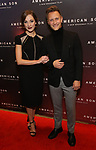 Laura Osnes and Nathan Johnson attends the Broadway Opening Night of 'AMERICAN SON' at the Booth Theatre on November 4, 2018 in New York City.