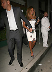 June 22nd 2012..Melanie Brown Mel B and husband stephen belafonte dine at Mr.Chow in Beverly Hills.White dress ..AbilityFilms@yahoo.com.805-427-3519.www.AbilityFilms.com.