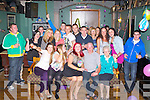 KEY TO THE DOOR: Megan Lynch, Mitchels Road, Tralee (seated centre) having a great time celebrating her 21st birthday with family and friends at Dowdie's bar on Saturday.....