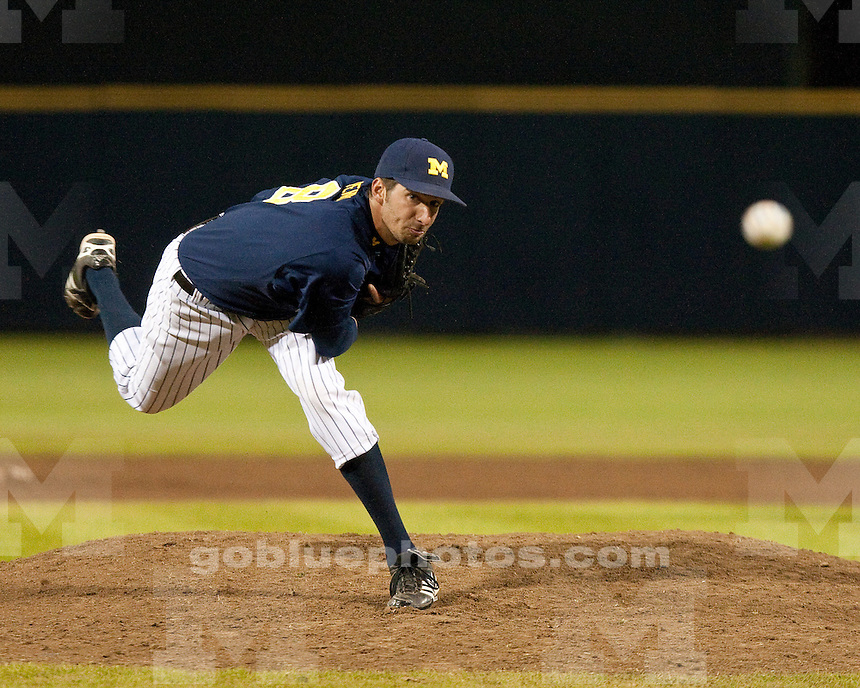 The University of Michigan baseball team lost to Toledo, 6-2, at the Wilpon Baseball Complex in Ann Arbor, Mich., on Friday, April 11, 2012.