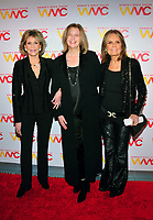 NEW YORK, NY - OCTOBER 26: Jane Fonda, Julie Burton and Gloria Steinem at the Women's Media Center 2017 Women's Media Awards at Capitale on October 26, 2017 in New York City. Credit: John Palmer/MediaPunch /NortePhoto.com