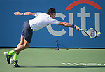 Milos Raonic (CAN) defeated Nicolas Mahut (FRA) 7-6, 7-6