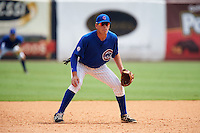 Matt Mervis (24) of Georgetown Preparatory in Potomac, Maryland playing for the Chicago Cubs scout team during the East Coast Pro Showcase on July 30, 2015 at George M. Steinbrenner Field in Tampa, Florida.  (Mike Janes/Four Seam Images)