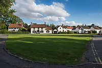 The School Green in the village of Bishop Burton, East Riding of Yorkshire, United Kingdom on Thursday 2nd August 2018,