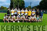 The Dr Crokes team that played Austin Stacks in the Coiste na nÓg semi final in Lewis Road on Wednesday