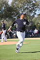 Hiroki Kuroda (Yankees),<br /> FEBRUARY 15, 2014 - MLB : Hiroki Kuroda of the New York Yankees practices during the the first day of the New York Yankees spring training baseball camp at George M. Steinbrenner Field in Tampa, Florida, United States.<br /> (Photo by Thomas Anderson/AFLO) (JAPANESE NEWSPAPER OUT)