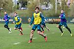 12.04.2019, Trainingsgelaende am Weserstadion, Bremen, GER, 1.FBL, Training SV Werder Bremen<br /> <br /> im Bild<br /> Yuya Osako (Werder Bremen #08), <br /> <br /> Foto &copy; nordphoto / Ewert